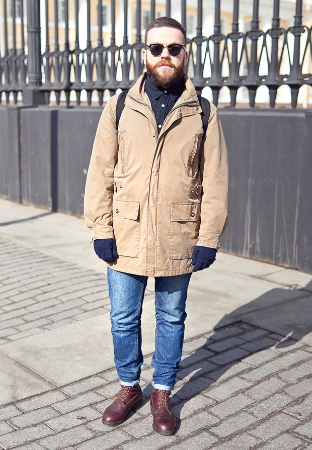 Внешний вид (Петербург): Егор Могилевский, сотрудник Русского музея. Изображение № 1.