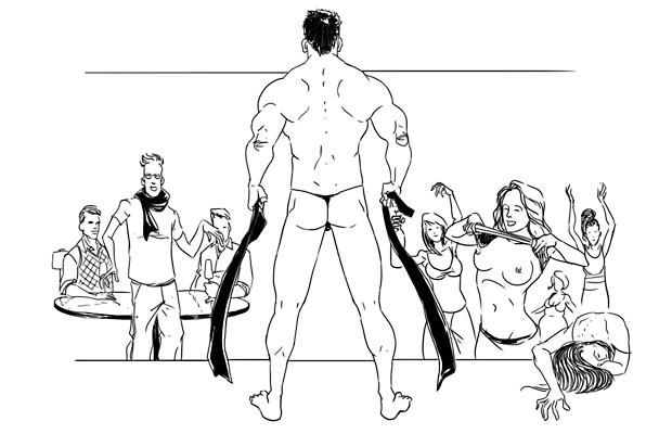 Как всё устроено: Мужской стриптиз. Изображение № 4.
