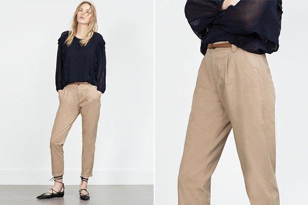 30dfeb8ffc27 Семь пар светлых женских брюк — The Village