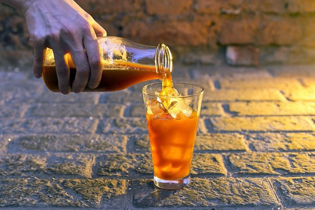 Ресторан и бар Elements, кафе «Федя, дичь!», киоск Q-tab Lab ибар Dobro. Изображение № 6.