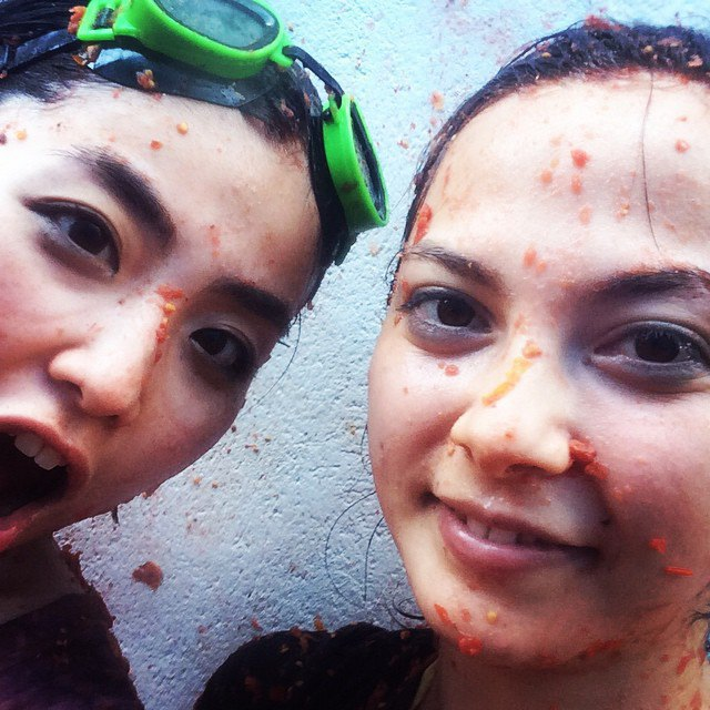Битва помидорами вИспании вснимках Instagram. Изображение № 4.