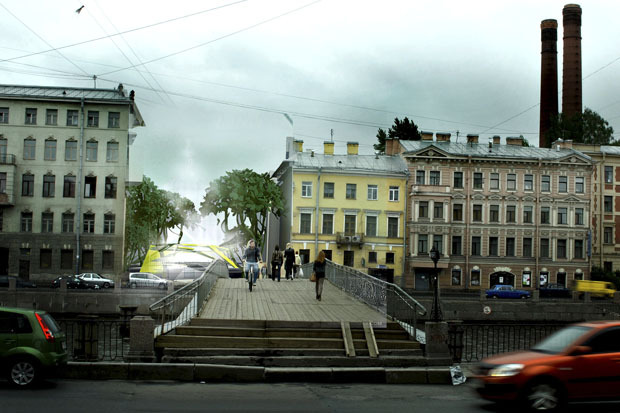 10 проектов квартала около Витебского вокзала . Изображение № 25.
