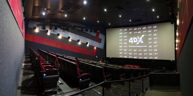 В Москве открывается первый 4DX-кинотеатр. Изображение № 1.