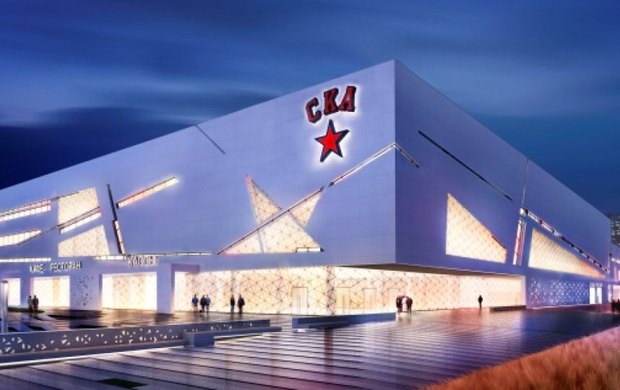 СКА построит хоккейный комплекс возле Ледового дворца вследующем году. Изображение № 2.