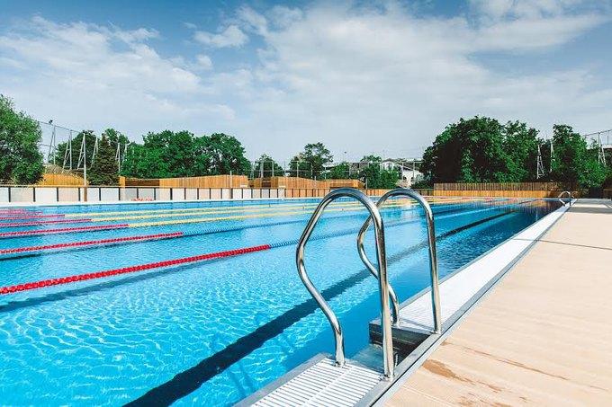 В «Лужниках» откроется зона отдыха сдвумя бассейнами. Изображение № 4.
