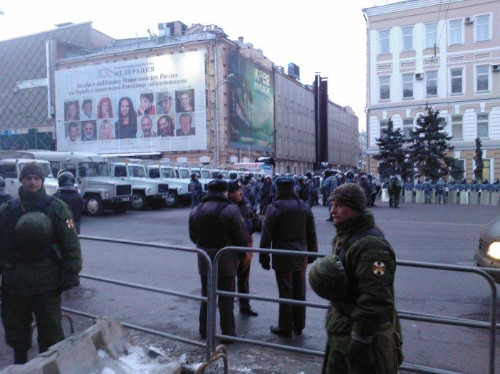 Онлайн-трансляция: Митинги в Москве и Петербурге. Изображение № 37.
