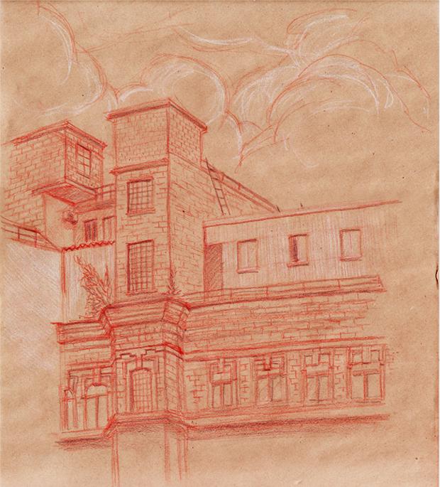 Клуб рисовальщиков: «Красный Октябрь». Изображение № 4.