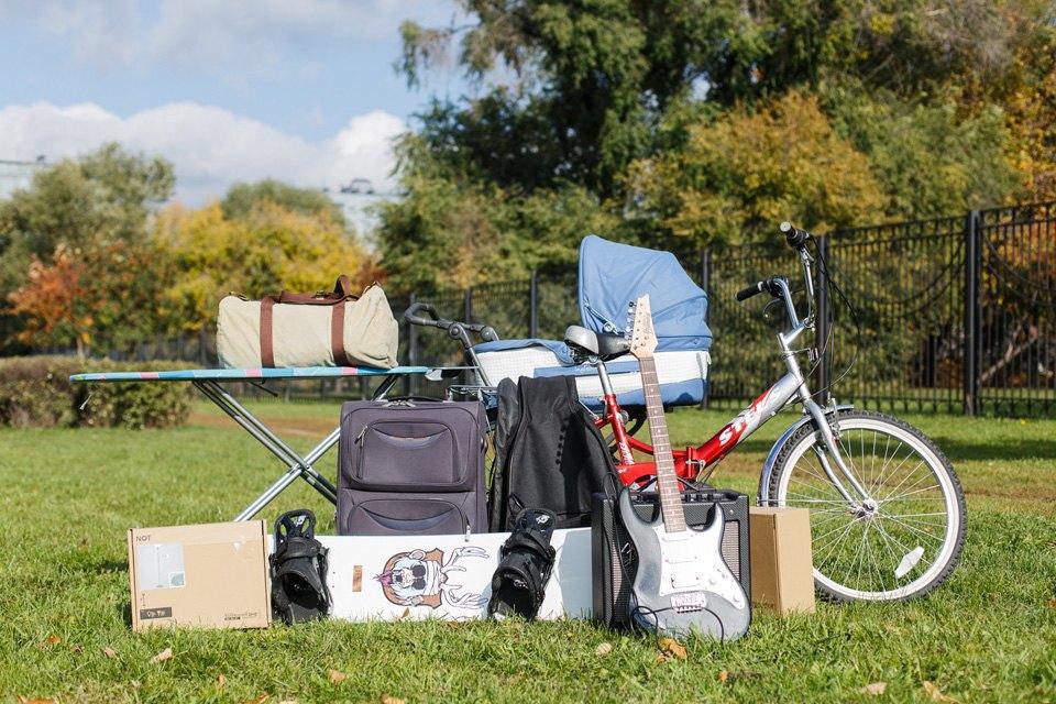 Диван, чемодан, саквояж: Что влезет вгородскую малолитражку. Изображение № 1.