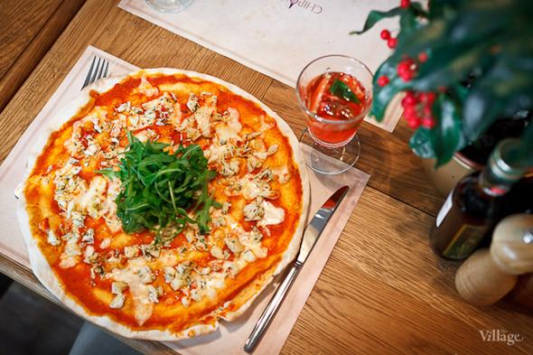 Пицца с крабом — 590 рублей