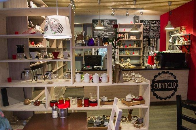 На Декабристов открывается кофейня имагазин чая Cup in Cup. Изображение № 1.
