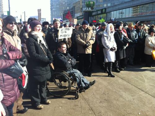 Онлайн-трансляция: Митинг на Новом Арбате. Изображение № 29.