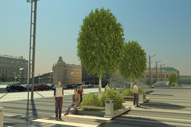 Проект преобразования Сенной площади. Изображение № 6.