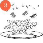 Рецепты шефов: Цитрусовый салат с гребешками. Изображение № 5.