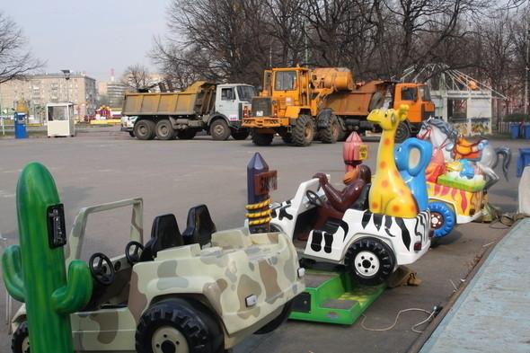 Изображение 6. Парк им. Горького лишится старого колеса обозрения.. Изображение № 3.