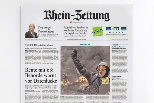 Взгляд со стороны: Западные СМИ — о событиях на Украине. Изображение № 25.
