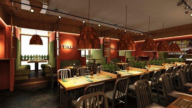 Ресторанная группа Italy открыла первое заведение в центре. Изображение № 1.