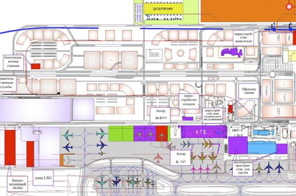 Центральный деловой район будущего аэротрополиса. Изображение № 3.