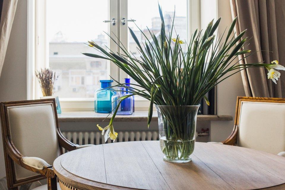 Светлая квартира архитектора всталинском доме. Изображение № 19.