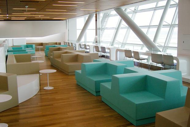 Лаундж-зоны, в южнокорейском аэропорту Инчеон.. Изображение № 20.
