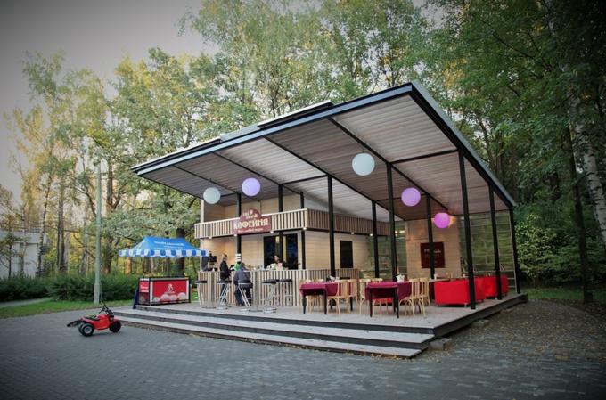 В Измайловском парке открылась кофейня GagaGagapella. Изображение № 1.