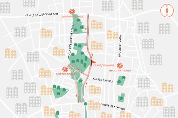 Городская программа и ограничение движения на 6мая. Изображение № 7.