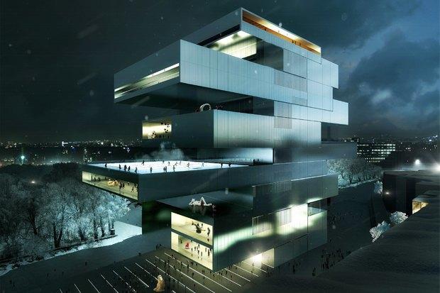 Здание ГЦСИ спроектирует ирландское бюро. Изображение № 3.