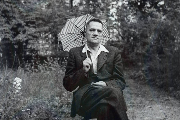 Николай Пилюгин на отдыхе, 1950-е. Изображение № 9.
