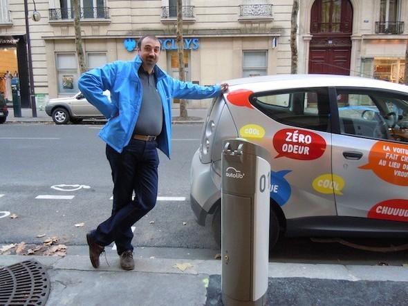 Иностранный опыт: Прокат электромобилей в Париже. Изображение № 19.