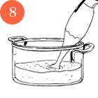 Рецепты шефов: Филе говядины с пюре из цветной капусты и соусом из лисичек. Изображение № 10.