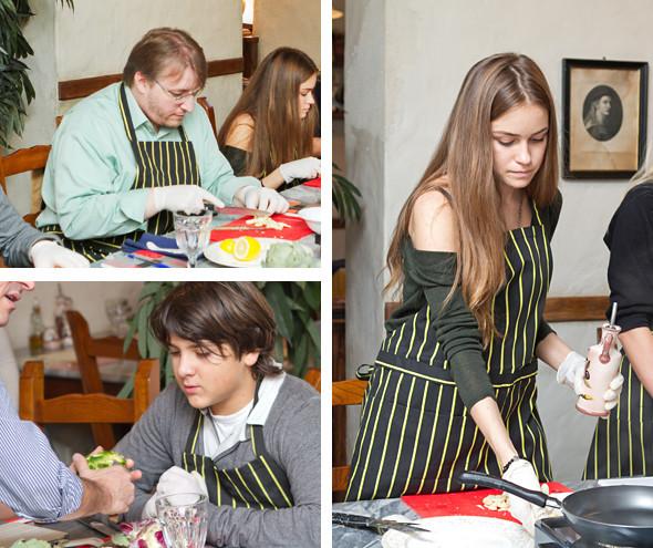 Время есть: Репортаж с кулинарного мастер-класса в школе Osteria Montiroli. Изображение № 5.