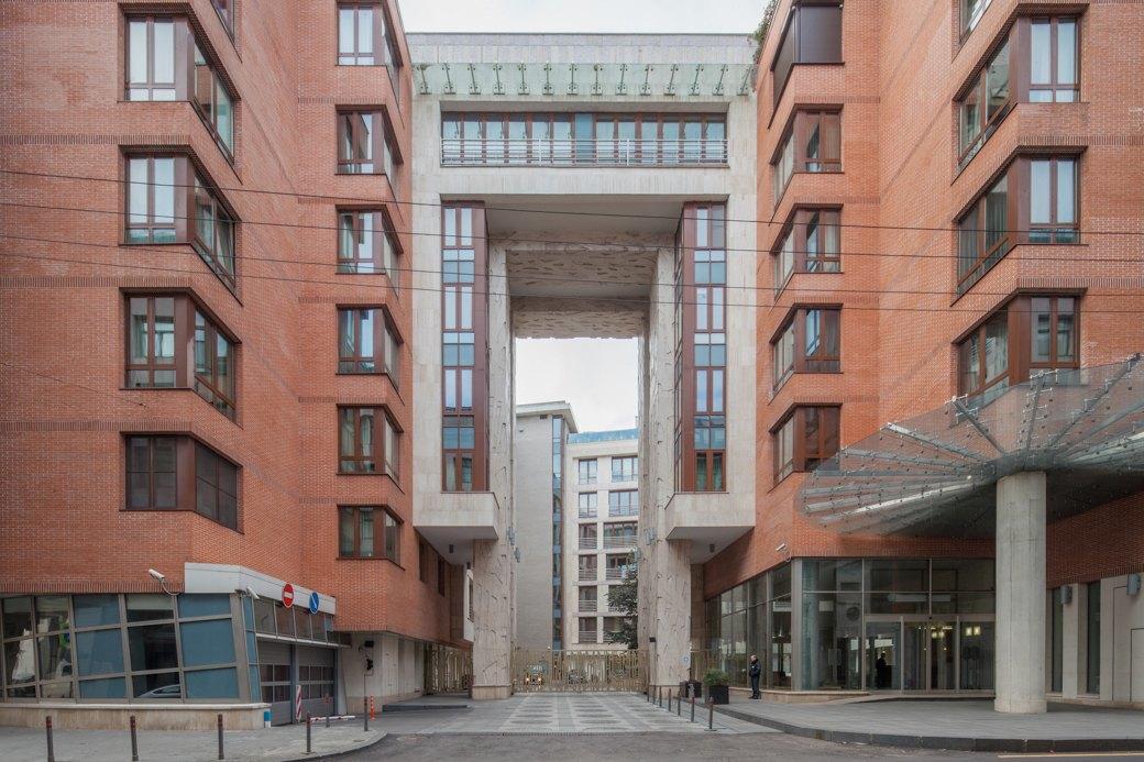 Жилой комплекс «Новая Остоженка» «Архитектурно-проектное бюро ТРОМОС», 2004 год. Изображение № 12.