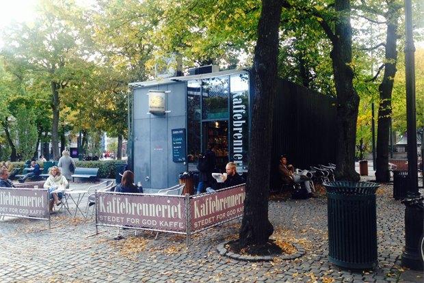 Где пить кофе вОсло. Изображение № 2.