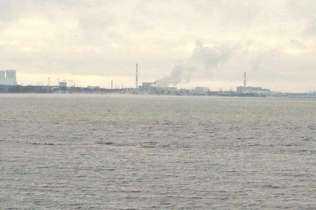 НаЛенинградской АЭС остановили энергоблок из-за прорыва трубы спаром (обновлено). Изображение № 1.