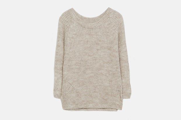 Самый дорогой и самый дешёвый свитер в магазине Zara. Изображение № 1.
