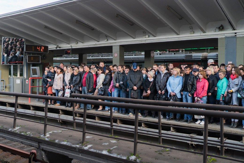 Эффект «Котельников»: Стал лисвободнее самый загруженный участок метро. Изображение № 7.