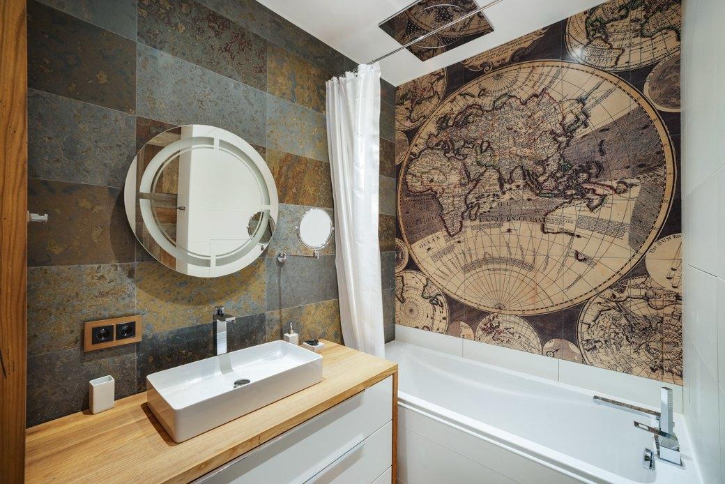 Минималистичная квартира для заядлого путешественника. Изображение № 14.