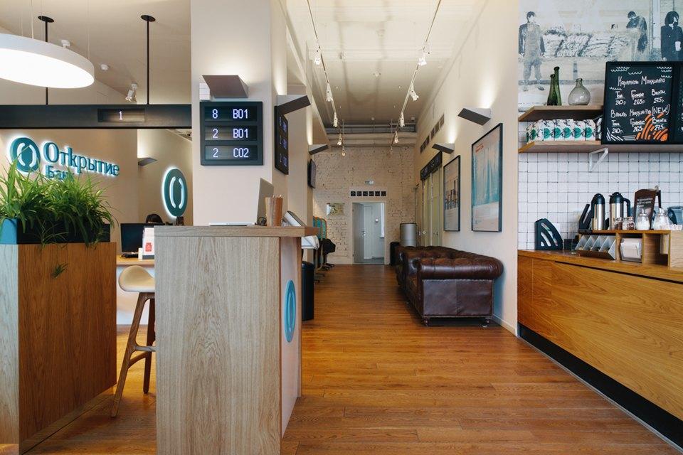 Отделение банка«Открытие», совмещённое с кофейней. Изображение № 8.