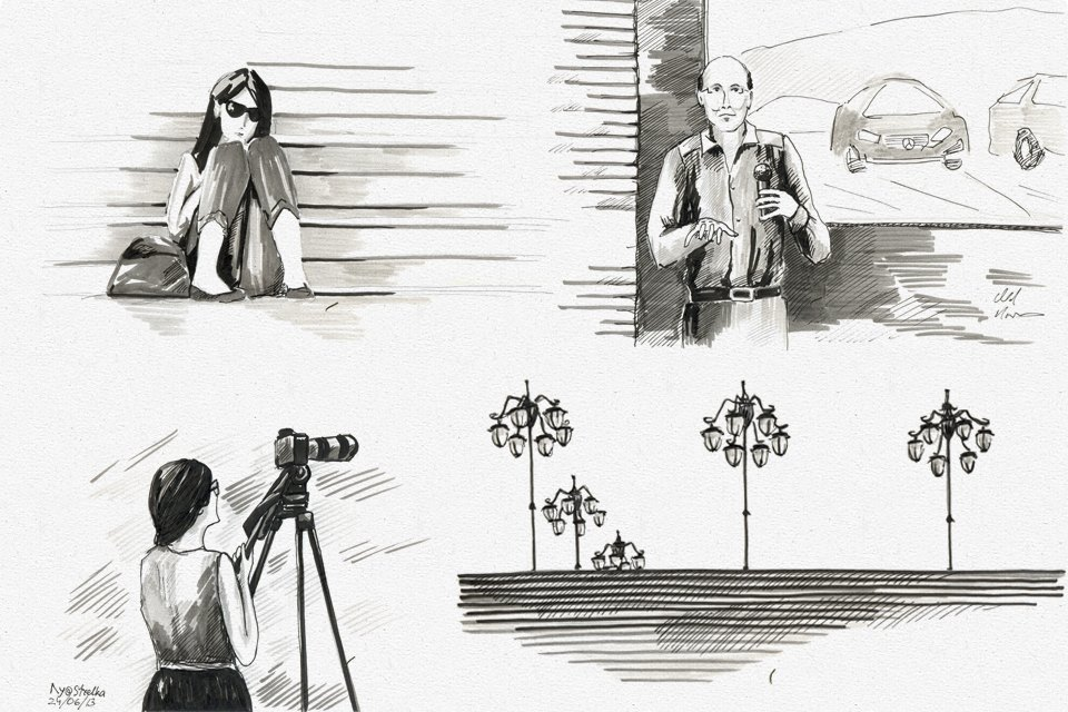 Клуб рисовальщиков: «Стрелка». Изображение № 3.