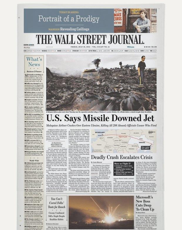 Авиакатастрофа под Донецком на первых полосах газет. Изображение № 11.