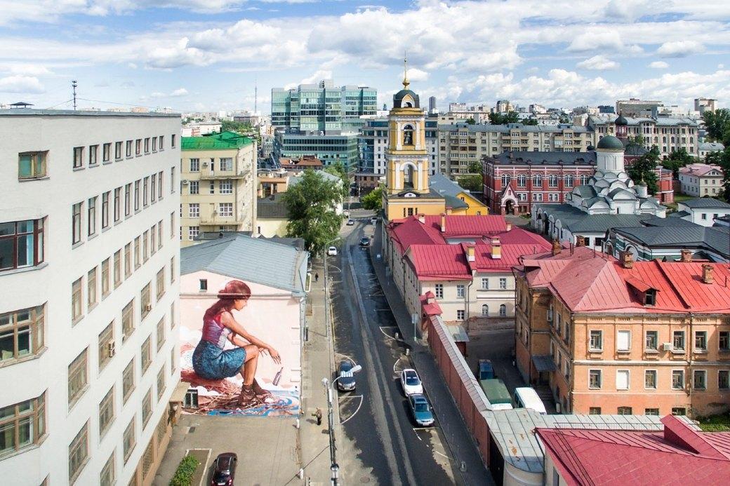 Лучшие московские граффити свысоты птичьего полёта. Изображение № 6.