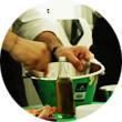 Omnivore Food Festival: Майкл Гринвольд и Симоне Тондо готовят орзотто из ячменя и тартар из голубя. Изображение № 34.