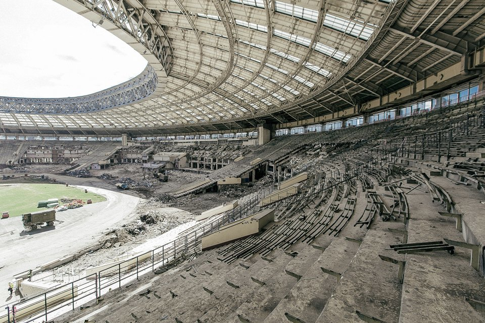 Как сейчас выглядит стадион «Лужники». Изображение № 3.