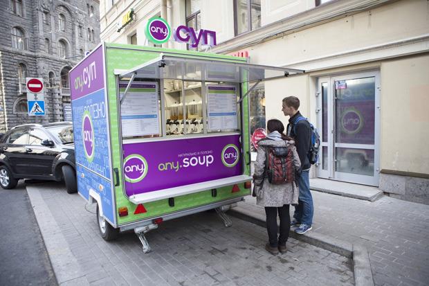 До конца года в Петербурге появится 20 киосков Any Soup. Изображение № 1.