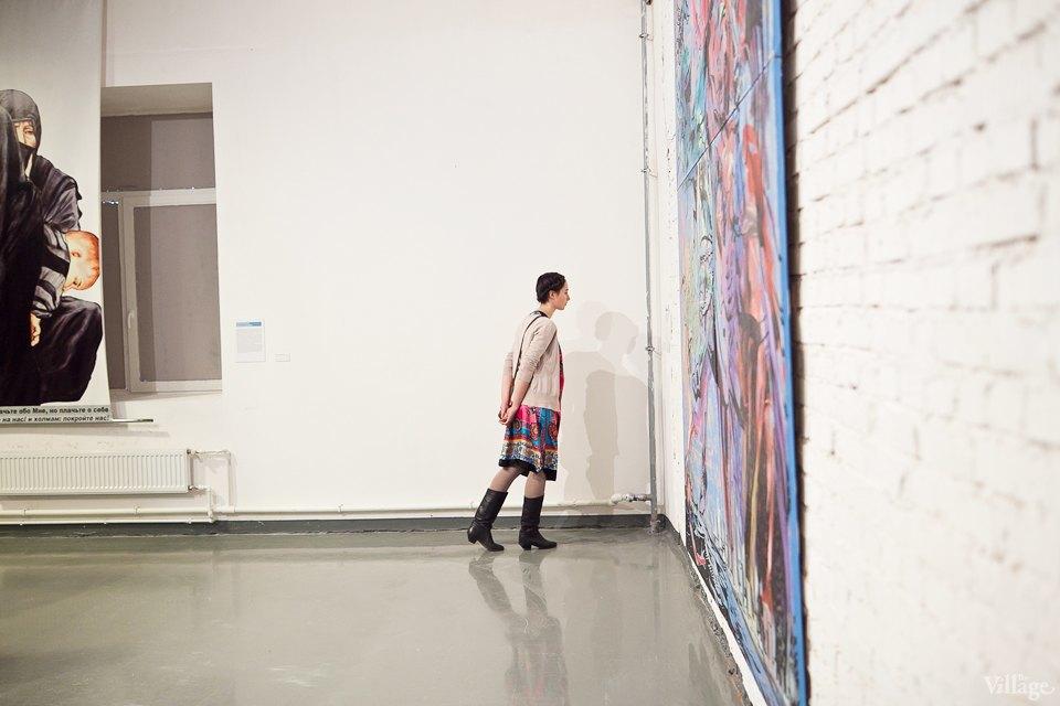 Люди в городе: Первые посетители выставки Icons в Петербурге. Изображение № 14.