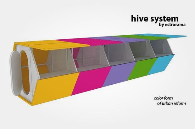 Московская дизайн-студия разработала модули для ярмарок. Изображение № 1.