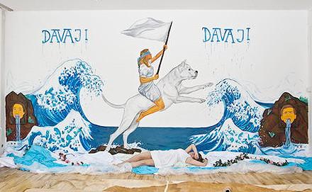 Работа участницы выставки Йоханны Браун — Austria Davaj! Johanna Braun will never let you down 2011. Изображение № 1.