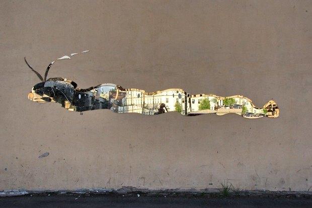 Кто украшает Москву зеркальными рыбами . Изображение № 9.
