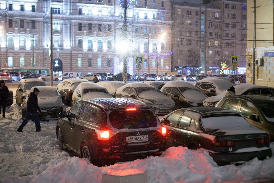Зубовская площадь после введения платной парковки. Изображение № 10.