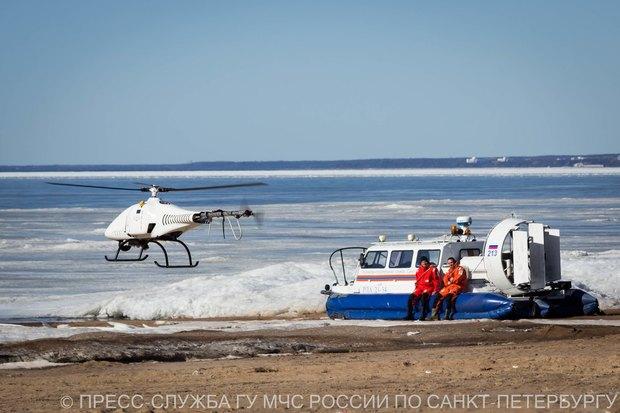 Акваторию Финского залива теперь патрулирует беспилотник МЧС. Изображение № 2.