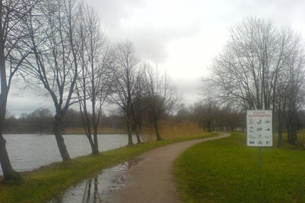 Английский парк Петергофа. Изображение № 1.